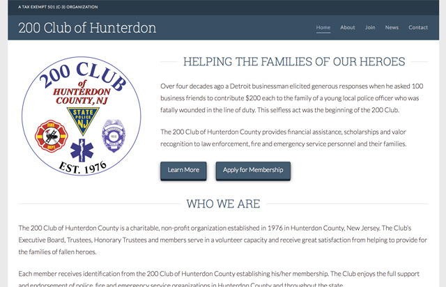 The 200 Club of Hunterdon County